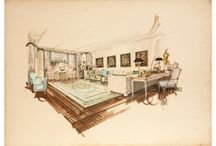 Interior Design Sketches / Interior Design Ideas