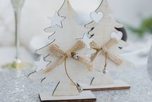 Winter Wonderland Christmas Table Decoration Set