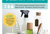 Organic household cleaners