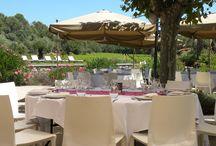La Bastide du Clos - Restaurant - / Notre restaurant vous propose une cuisine raffinée et pleine de saveurs. Durant la belle saison, nous vous accueillons sur notre large terrasse à l'orée du vignoble, et en hiver, dans notre salle à manger au coin de la cheminée...