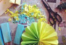 DIY Decorations / by Melissa Espinoza Villegas