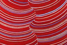 COLORAMA - RED / Sélection Rouge #aboriginal #aborigene #contemporain