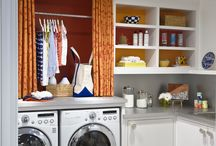 Laundry + Mudrooms / Laundry Room | Mudroom Ideas | Home Organization