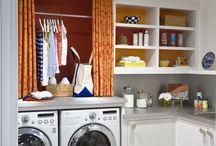 Laundry + Mudrooms / Laundry Room | Mudroom Ideas | Home Organization