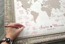 Guests Book Ideas / Explore other options besides the traditional guest book for your big day.