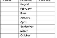 meses del año inglés
