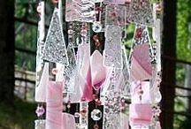Glass Chandiliers / Chimes