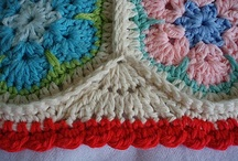 Crochet - Edgings & Borders / by Petals to Picots Crochet