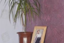 Декоративная штукатурка / Декоративные покрытия в интерьере. Фото и образцы