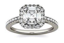 My Faux Diamond Asscher Cut Faux Diamond Rings