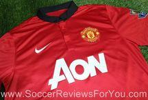 2013-14 English Premier League Kits