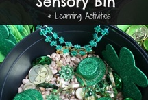 Holiday Sensory Bins