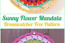 how to make sunny flower mandala