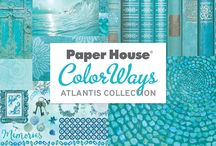 ColorWays Atlantis Collection / Paper House ColorWays Atlantis Collection.