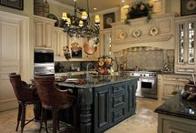 Kitchens / by Melissa Gilbert