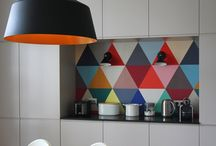 Rainbow Interior Design and Home Decor / I LOVE rainbow themed interior design and rainbow homme decor, the more and brighter the colours the better! This board showcases some wonderful rainbow interior design and home decor ideas from DIY to paint ideas to products!