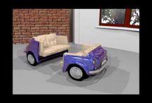 Sofa FIAT 500