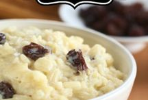 Rice puddings