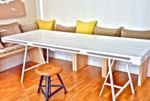 D.I.Y Dining Table / The story of the making of my pallet dining table / by ScrapHacker