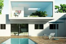 case con acqua