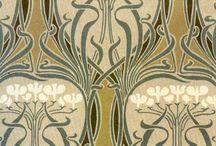 Art Nouveau pattern...