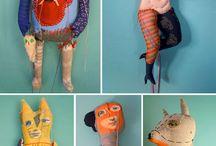 handmade puppets