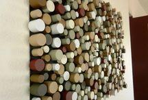 Decoración de pared. / Decoraciones diferentes y divertidas para tus paredes.