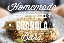 YummY breakfast bars / options for breakfast and snack bars