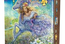Josephine Wall Jigsaw Puzzles / Josephine Wall is a popular English fantasy artist and sculptor.