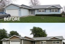 Before and After Home Remodel / New siding, a new roof or new windows can make a world of difference on your home. See the before and afters of these home renovations here.