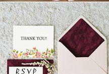 Invites / Convites de casamento