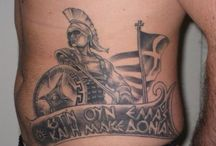 Macedonia tattoo