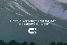Reünie  - roman van/novel by Gaby den Held, stills from the booktrailer