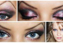 my work / make-up