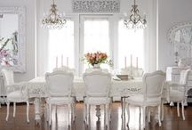 Dining room and tables / by Auntie Situation