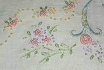 French Embroidery / I love French embroidery style, it's just beautiful and so delicate looking