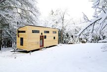 Tiny Homes / Small space savy, designer homes.