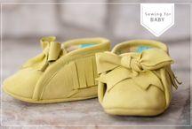 Pattern sepatu bayi