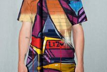 "Ben Uyeda's ""Urban Camouflage"" Men's Designs for Yoshirt"