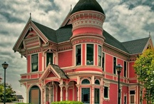 Victorian Houses / Beautiful homes of the victorian era.