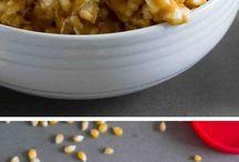 Popcorn peanut butter