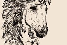 Unicorn drawings❤❤