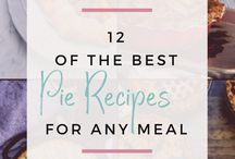 Pies and Tarts / Pie and Tart recipes both full size and mini