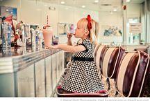 Ice cream photo  shoot