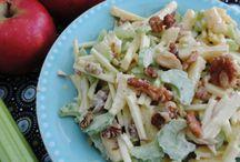 Frisse salade met bleekselderij