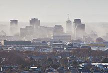 city scape. / by Harriet Lidgard