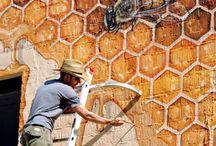μελισσες τοιχογραφια