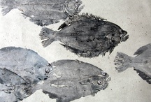 Art: Gyotaku  / Gyotaku is the art of Japanese fish printing.