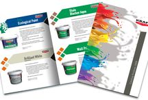 catalogues & brochures & flyers / Graphic design