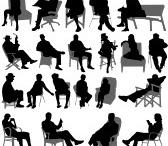 test sitting people